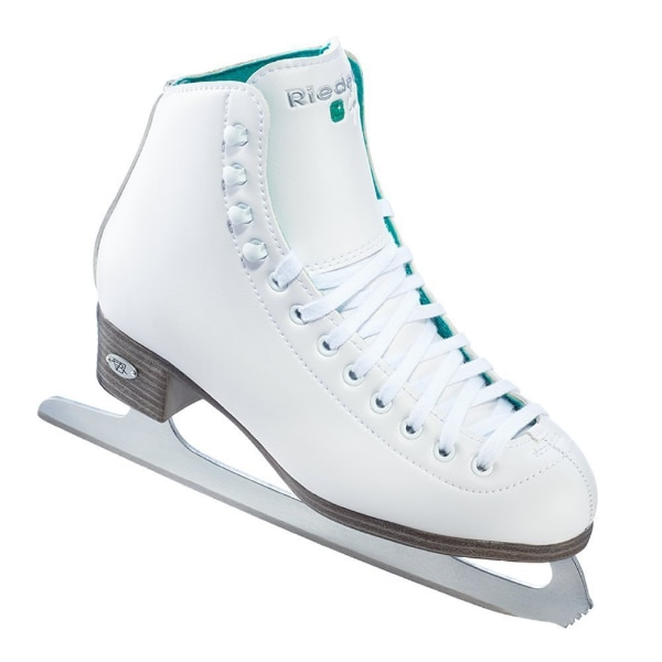 e5e5071a09bb Used NEW Riedell Opal Size 11 Kids Figure Ice Skates Color White for sale  in San Jose