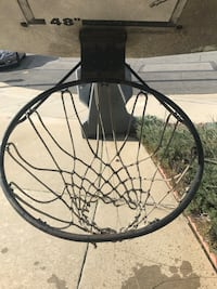 Basketball court. Fair condition. No delivery, must pick up.