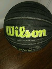 Black and green Wilson basketball