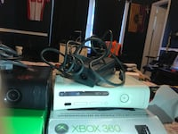 white Xbox 360 console with controller and game cases Sterling, 20164