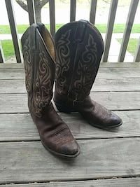 Justin men's boot size 10.5 Ames, 50014