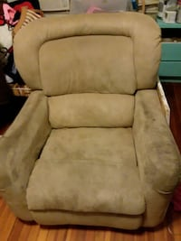 tufted gray suede sofa chair 261 mi