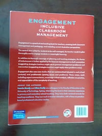 Engagement Inclusive Classroom Management text book SYDNEY