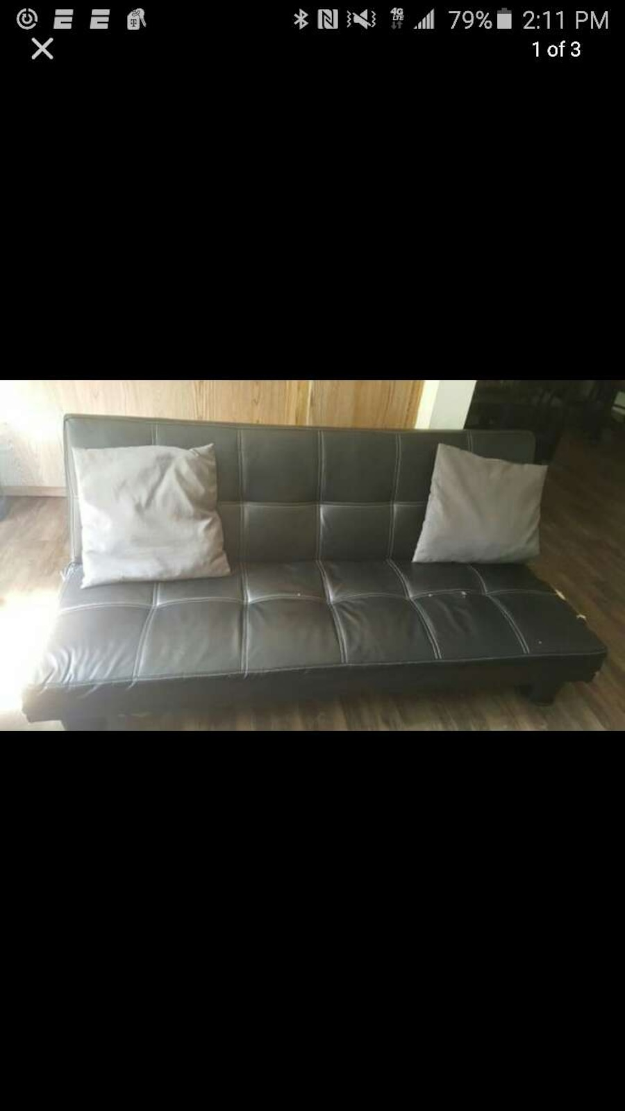 Couch That Folds Down Into Futon Bed In San Diego Letgo