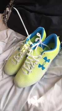 pair of green-and-blue Nike running shoes Waldorf, 20602