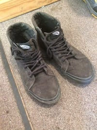 pair of black Nike high-top sneakers Guelph, N1G 1E9