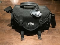 Optex multi-compartment padded camera bag with strap Newmarket, L3X 2E6