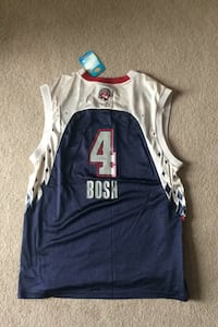 2007 Chris bosh All star game jersey, Autographed on the back Mississauga, L4W 2M5
