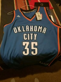 blue and red Chicago Bulls 23 jersey Houston, 77083