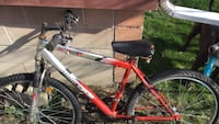 red and black hardtail mountain bike Windsor, N8X 4L8