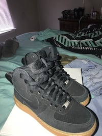 Black and Tan AirF1 hightops size 7 Damascus, 20872