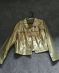 Paid 120.00 Gold Lether jacket brand new never wor Hillsboro, 97123