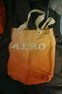 Orange & white Aeropostale handbag Butler County