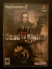 Dead to Rights for PS2  Vaughan, L4L