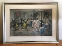 Ball at Versailles Framed Print By Paredes  Holly Springs, 27540