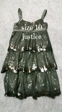 Girls size 10 dress, like new, justice $10 Monroeville, 15146