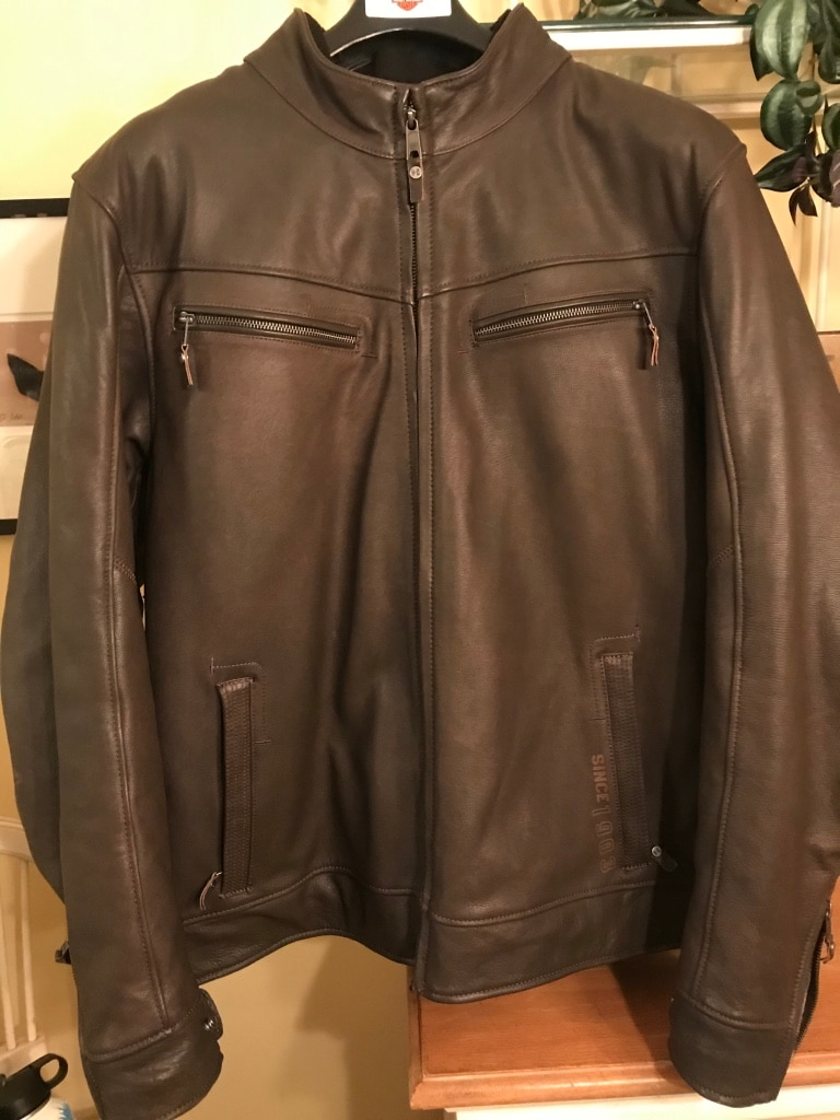 "Photo HARLEY-DAVIDSON: MENS LEATHER JACKET # 97024-19VM 2XL ""Brand New"""