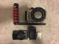 Underwater kit: Sony RX100 II and Underwater Housing