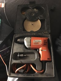 Black and orange black & decker power drill Edmonton, T5Y