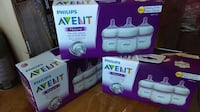 Philips Avent BPA Free Natural Baby Bottle - 4oz, 3ct Tempe