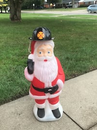 Vintage light up Santa Middletown, 45044