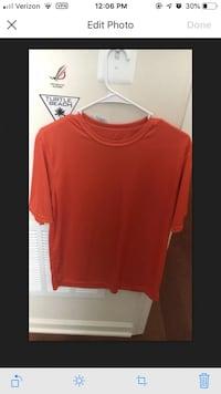 Orange t shirt 7 km
