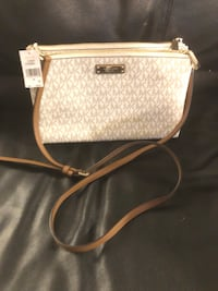 brown and gray leather crossbody bag Boise, 83706