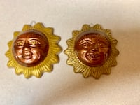 2 Small hanging sun faces Norman, 73071