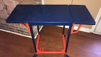 Vintage typewriter table in auburn colors Daphne, 36526