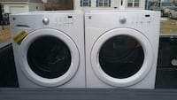 white front-load washer and dryer set Kansas City, 64121