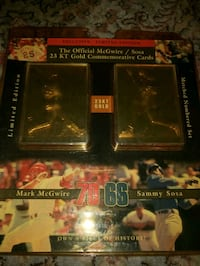 Mark Mcgwire 1993 baseball trading card Owasso