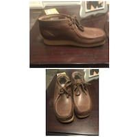 pair of brown leather boat shoes Augusta, 30906