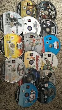 15 playstation 2 ps2 games Cottage Grove, 53527