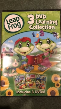 leapfrog 3 dvds  Mount Airy, 21771