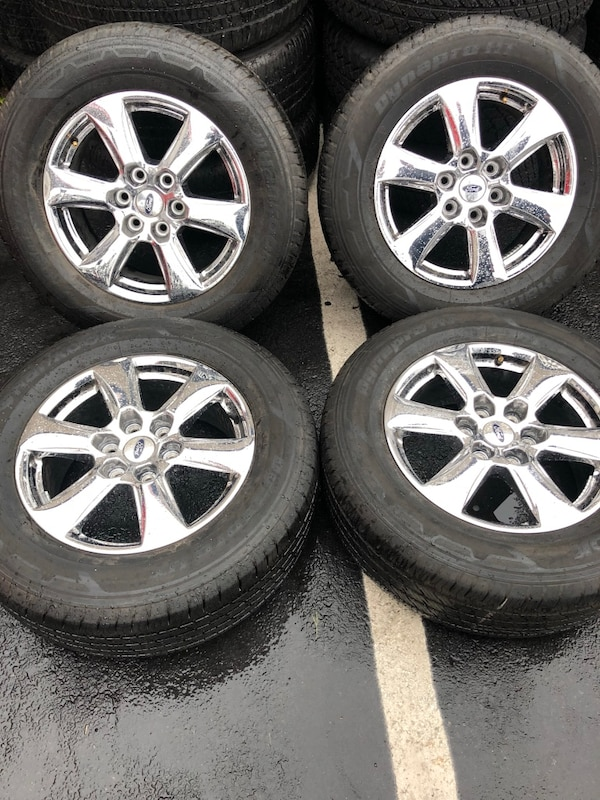 Ford F150 Factory Rims For Sale >> Used 2018 Ford F 150 Factory Wheels And Tires Brand New Condition