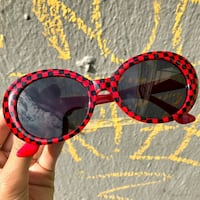Red Plaid Clout Sunglasses Hyattsville, 20785