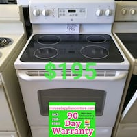 Whirlpool smooth top electric stove