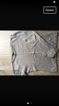 Pull gris simple/11ans Saint-Max, 54130