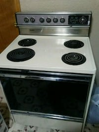 white and black 4-coil range oven Springfield, 65802