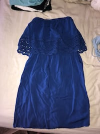 Strapless blue sundress XS Dallas, 75226