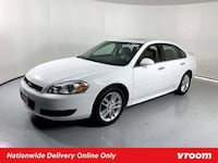 2014 Chevy Chevrolet Impala Limited Summit White sedan Houston