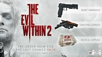 The Evil Within 2: Last Chance DLC Pack (PS4) Vancouver, V5P 3Y9