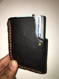 Leather card wallet Toronto, M4S 1C4