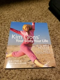 Kim Lyons 12 Week Program Workout and Diet Plan Book