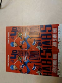Hockey Tickets : Montreal vs Florida Panthers Reds Section 106 Laval, H7X 3M7