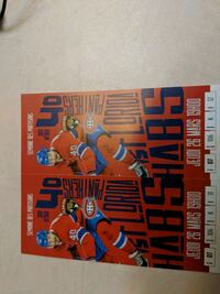 Hockey Tickets : Montreal vs Florida Panthers Reds Section 106