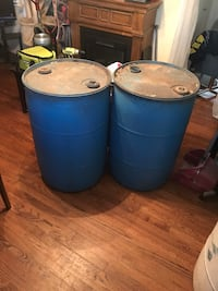 55 gallon plastic barrels Midwest City, 73110