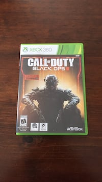 Call of duty black ops 3 xbox 360 game case Guelph/Eramosa, N1E 7K8