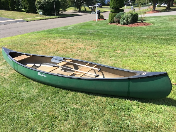 14' Old Town Canoe - Pathfinder with two PFD's