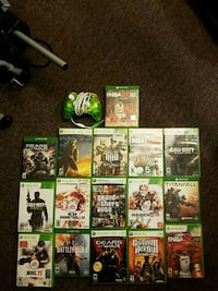 16 Xbox one/360 games, and 1 360 controller.  Woodbine, 21797